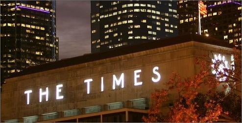 LA Times May Outsource Its National and Foreign Coverage