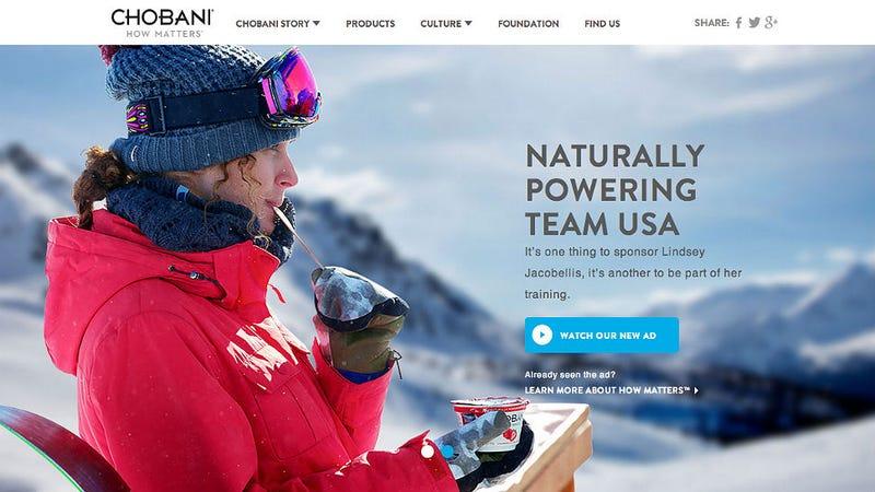 Olympic Chobani Update: Unloved Yogurt to Find a New Home