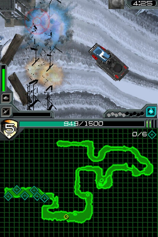 G.I. Joe DS Screens From The Top Down