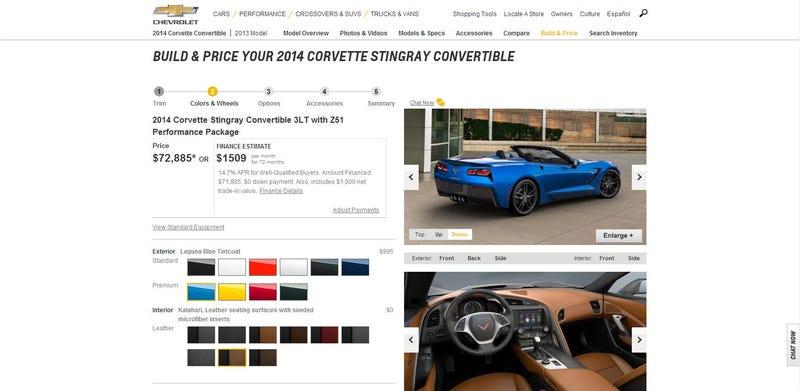 Online Car Configurators