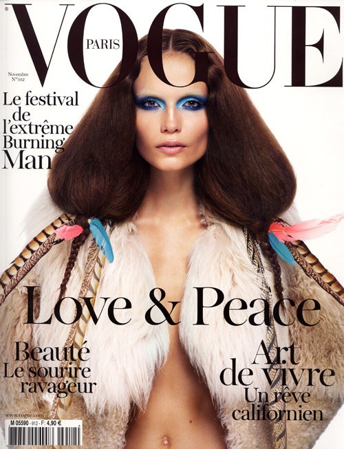 And This Is How You Totally Dominate The Cover Of Vogue Paris
