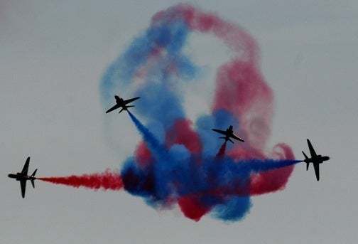 RAF Red Arrows: When Ground Speed Is Not Enough