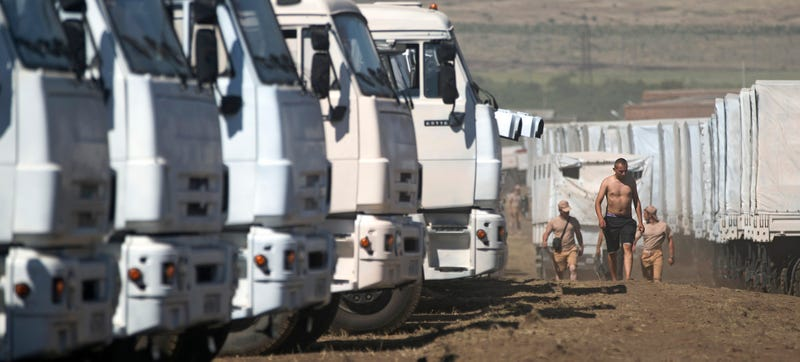 Russia's Massive Mystery Convoy & A Phantom Battle Inside Ukraine