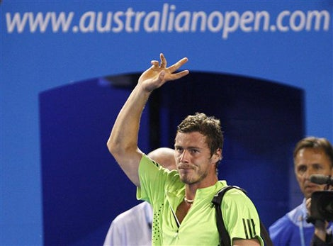 The Men Of The Australian Open Serve Good 'Sex Face'