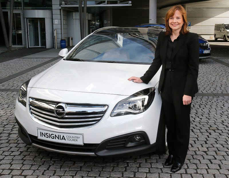 GM's First Woman CEO Makes Half a Man's Salary But Is Still Super-Rich