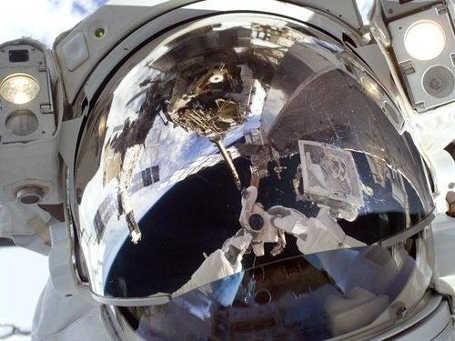 Astronaut Self-Portrait