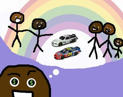 When Assimilation Goes Wrong: Negro NASCAR