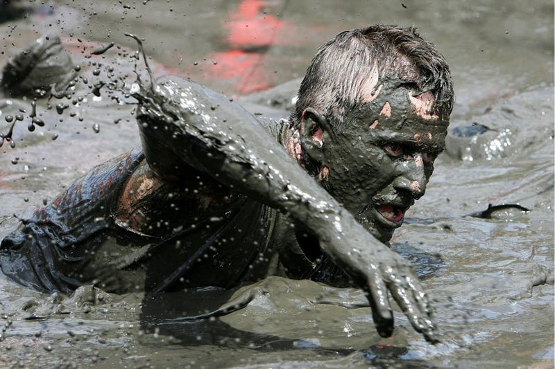 Obstacle Racers Are Getting Sick After Literally Eating Shit