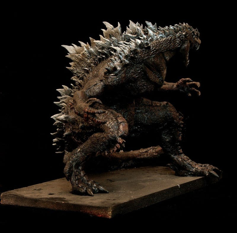 Is this what the new Godzilla will look like?