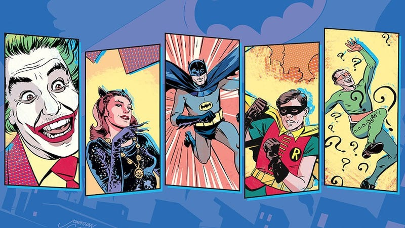 Bang! Pow! Zoom! Batman '66 is the retro-king of This Week's Comics!