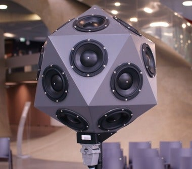These Spherical Microphone Arrays Make Holographic Images of Sound