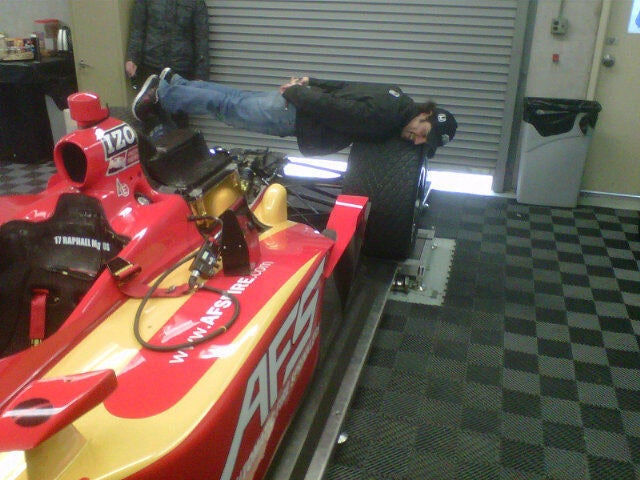 Planking at the Indy 500