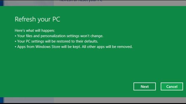 Create a Custom Refresh Image in Windows 8