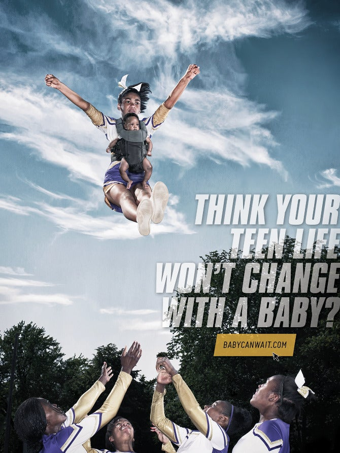 Chicago is the Latest City to Tackle Teen Pregnancy with Weird Ads