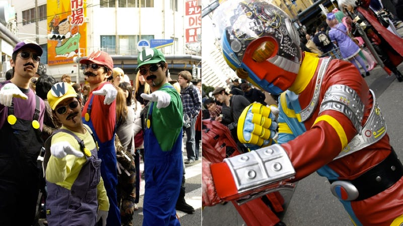 Hide the Kids. Osaka Is Overrun with Crazy (and Cute) Cosplayers.