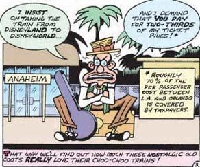 Cartoonist Peter Bagge Explains How, Why Amtrak Sucks