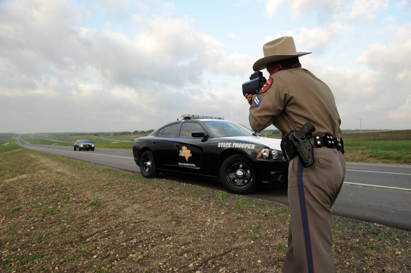 Watch Texas Test Its 85 MPH Highway's Cameras With A 220.5 MPH Blast