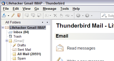 Turn Thunderbird into the Ultimate Gmail IMAP Client