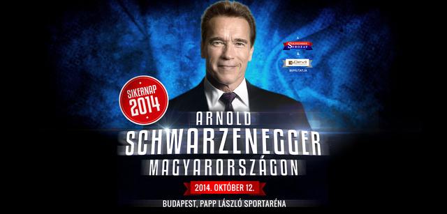 Arnold Schwarzenegger Magyarországra jön!