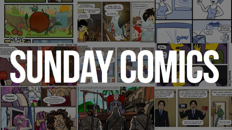 Sunday Comics: Guess Who's Coming to Dinner