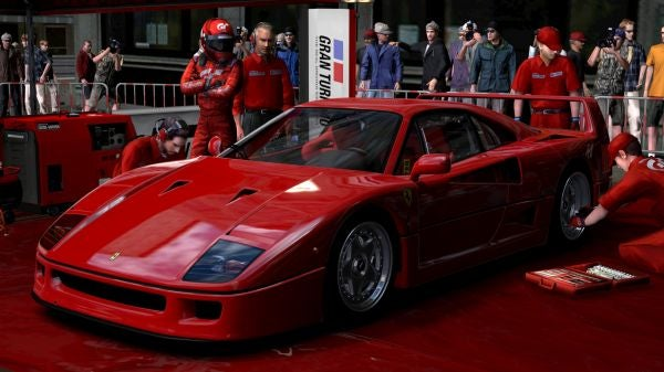 GT5 Prologue Ferrari F40: First Look