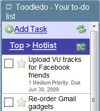 Toodledo Gmail Adds Robust Task Management to Gmail