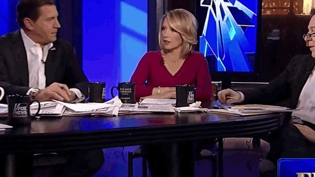 "Fox News Uses a ""Leg Cam"" to Ogle Female Panelists"