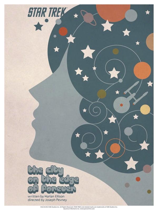 Pop art Star Trek posters make the Original Series groovy again