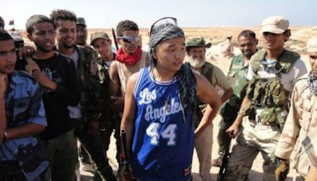 Look At This Fucking Hoopster: Libyan Rebel Edition