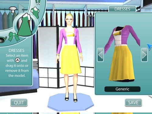 Your First Look At Project Runway: The Video Game