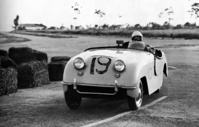 The Winner of the Inaugural 12 Hours of Sebring
