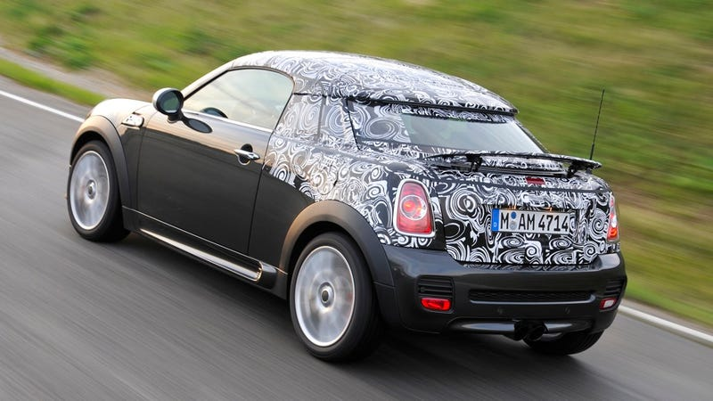 The Cooper Coupe is the Mini two-seater we've always wanted