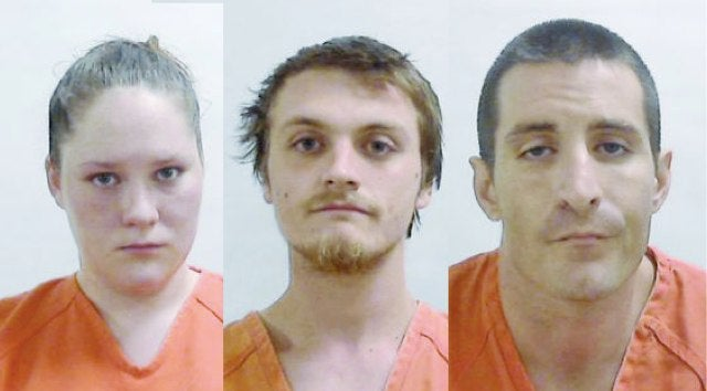 Trio Throws Toilet, Sink to Protect Meth Lab From Hallucinated Attack