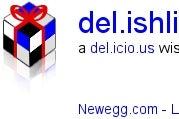 Make a Wish List from del.icio.us with del.ishli.st