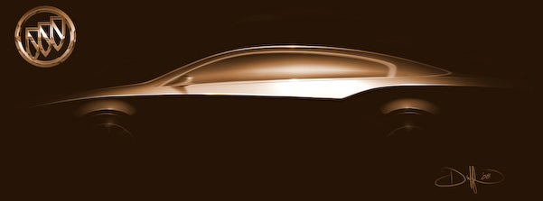 Buick Drops Invicta Concept Teaser Ahead Of Beijing Motor Show