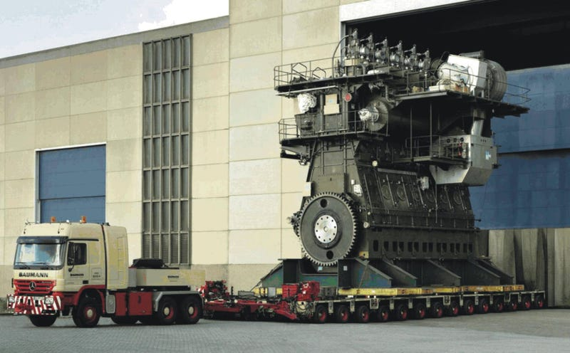 The World's Ten Largest Engines