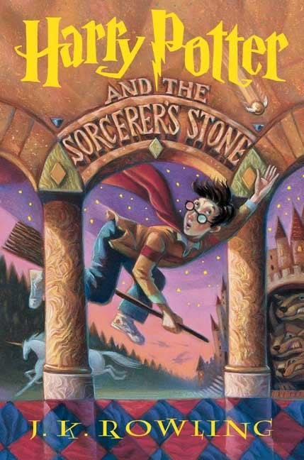 The Harry Potter books are finally getting decent covers