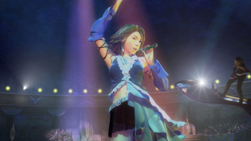 Final Fantasy X-2 Sure Looks Pretty In High Definition