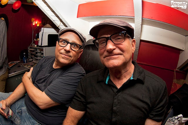 Robin Williams and Bobcat Goldthwait walk into a comic book shop
