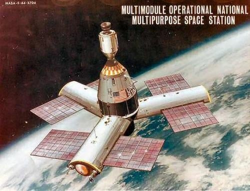 One of the First Space Station Concepts Was Made of Brick