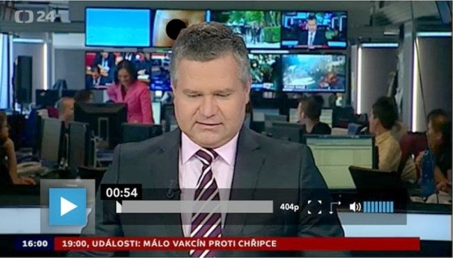 Large Penis Videobombs News Anchor During Live Broadcast