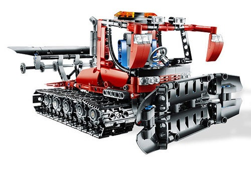 LEGO Technic Snow Groomer Oddly Specific
