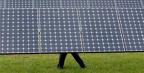 Obama at DeSoto Solar Plant Gallery