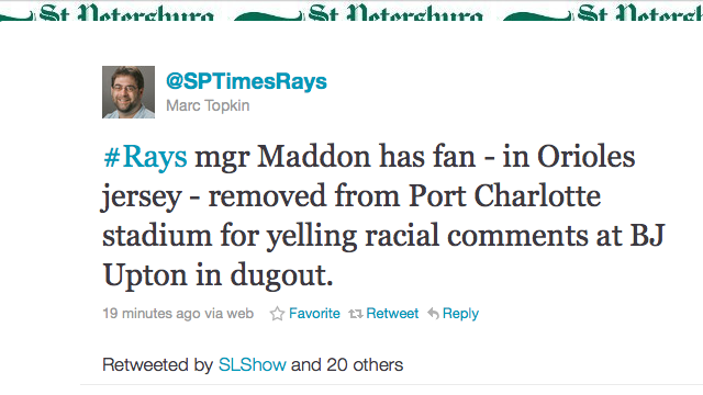 Orioles Fan Booted From Spring Training Game For Yelling Racist Comments At B.J. Upton