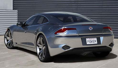 Fisker Karma Previewed Ahead Of Detroit Reveal