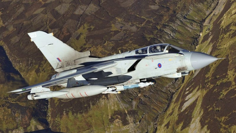 ​How The Brits Are Using Fighter Jets To Help With Flood Relief
