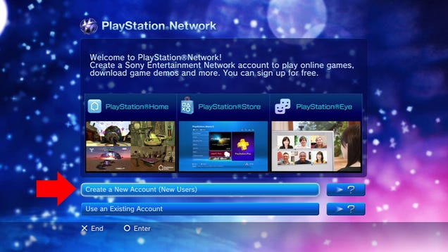 how to create a psn account on mobile