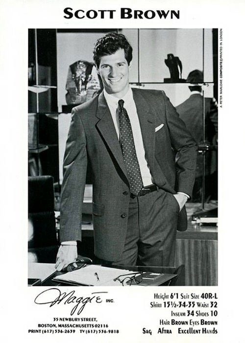 The Beefcake-Turned-Senator: Scott Brown's Model Card