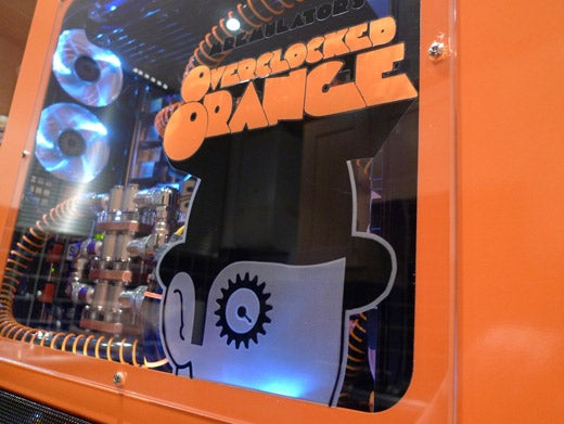A Clockwork Orange Gets Overclocked