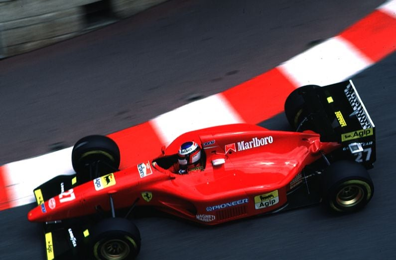 Formula 1, two decades ago, when the cars still looked clean
